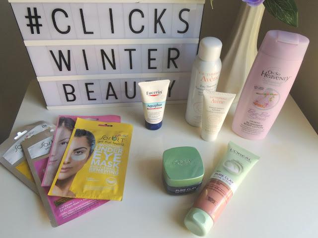 Clicks Winter Beauty Haul || Jane Wonder Blog