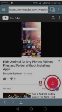 Cara download video YouTube di Android 8