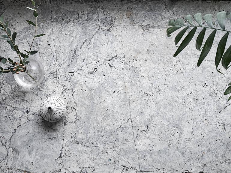 detalle piedra apartamento nórdico