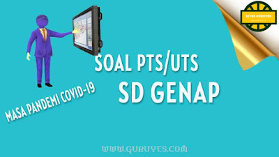 yang dapat anda download secara gratis berserta jawabannya untuk Soal UTS    Download Soal PTS Matematika SD Kelas 6 Semester 2 Kurikulum 2013