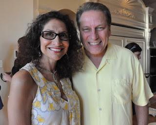 Lupe Marinez Izzo with her celebrity husband Tom Izzo