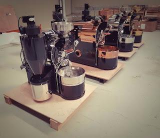 máy rang cafe probat