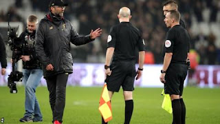 Klopp charged after comments on referee