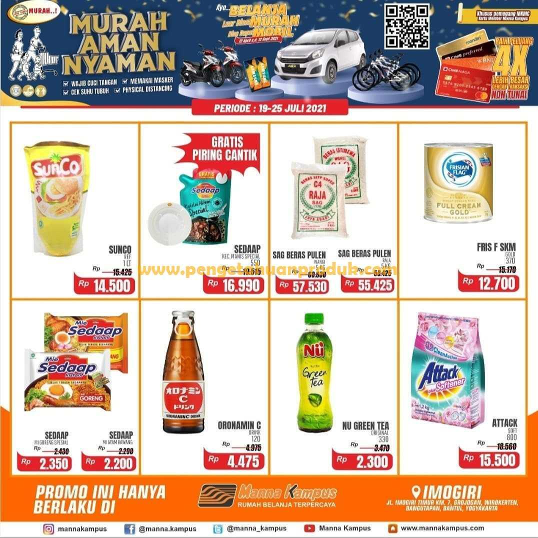 Katalog Promo Mirota Kampus Weekend 19 - 25 Juli 2021