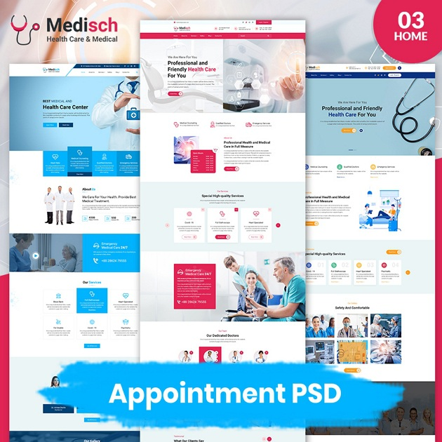 Download health care appointment template