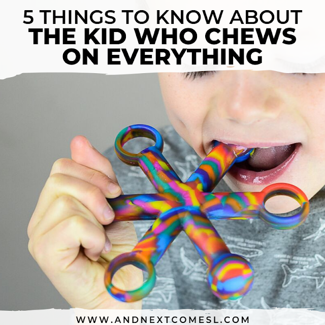 5 things to know about the kid who chews on everything