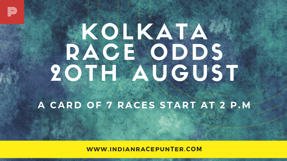 Kolkata Race Odds 20 August