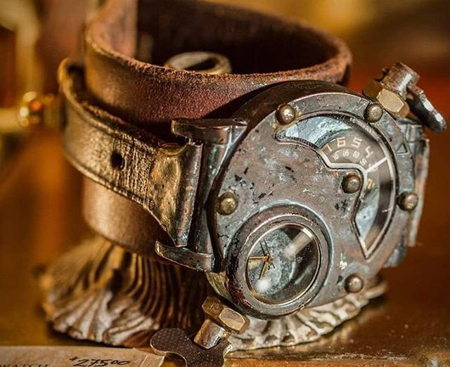 10 Contoh Foto Gambar Aliran Steampunk Paling Keren Dan Unik