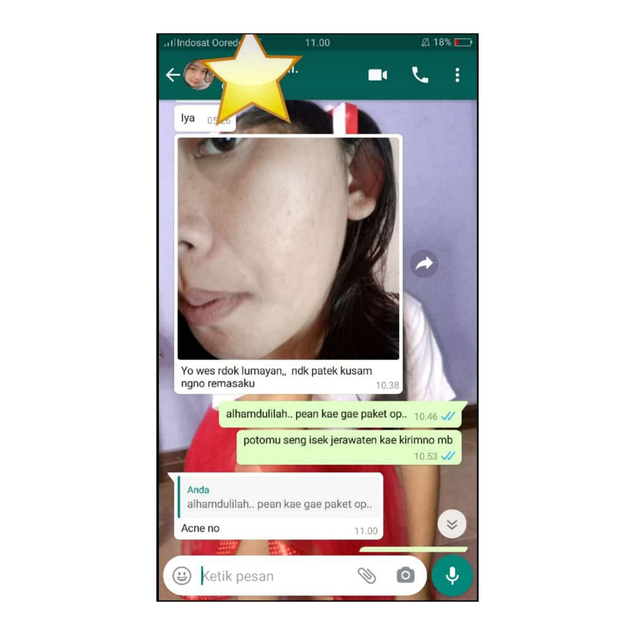 testimoni Cleora Beauty