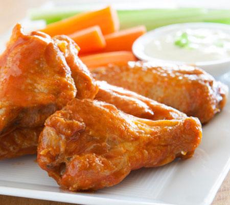 Restaurant Style Buffalo Chicken Wings recipe -Taste USA