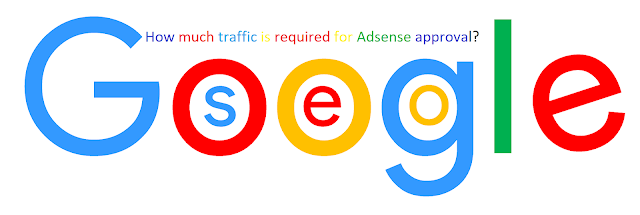 How much traffic is required for Adsense approval?