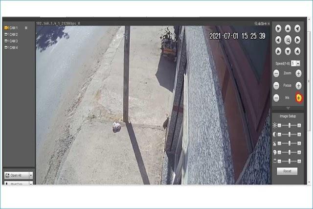 Hướng dẫn chuyển đổi hệ camera 4 in 1 bằng đầu ghi hình