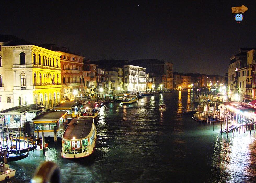 Gran Canal de noche