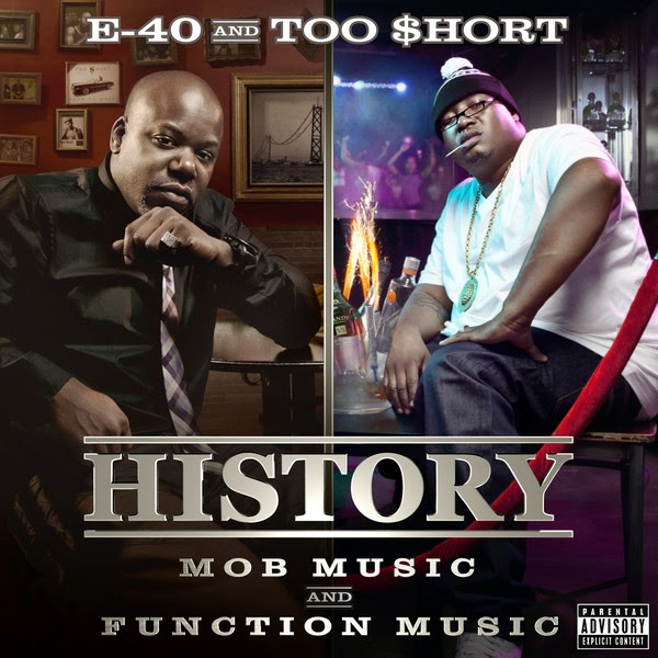 E-40 & Too Short - History: Function & Mob Music (Deluxe Version) Cover