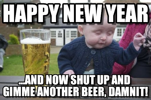 Funny New Year's Day Meme 2019