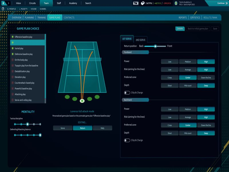 Download Tennis Manager 2021 Free Full Game For PC
