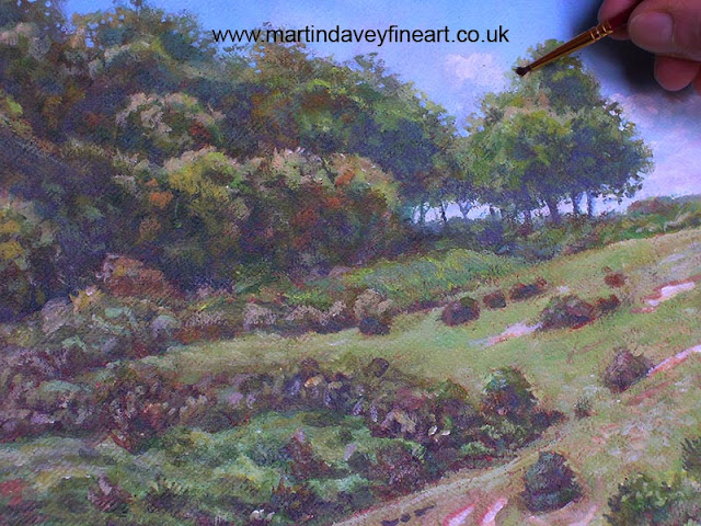 Hampshire artist new forest artwork