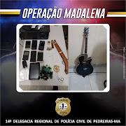 Operação Madalena da Polícia Civil prende mulher por tráfico de drogas em Igarapé Grande.