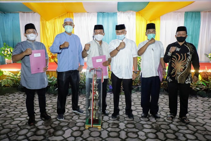 Penutupan MTQ dan Festival Nasyid Ke-52 Tahun 2021 Tingkat Kecamatan Kota Kisaran Timur