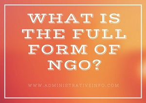 What Is The Full Form of NGO?