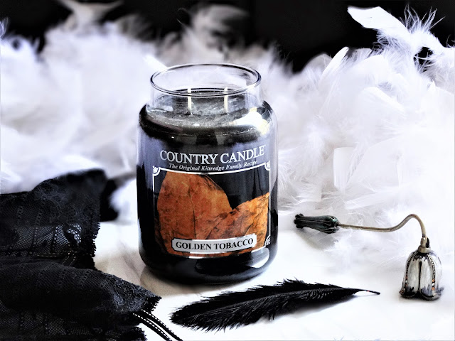 avis Golden Tobacco Country Candle, avis bougie country candle, bougie parfumee, blog bougie, candle review