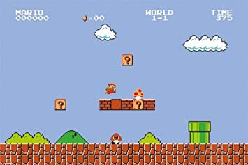 video super mario bros nes