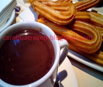 Foto Resep Churros Saus Coklat Mudah Sederhana Sajian Sedap Sekejap Langsung Enak