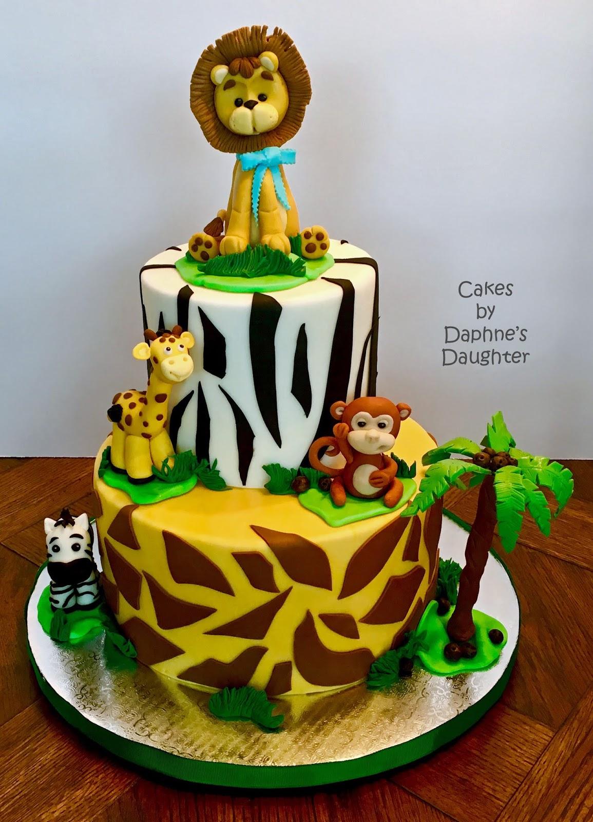 Safari Theme Baby Shower Cake : safari, theme, shower, More:, Safari, Shower
