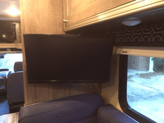 Winnebago Fuse TV Bedroom