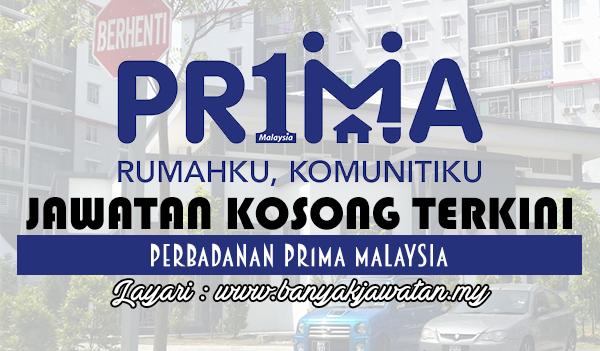 Jawatan Kosong Terkini 2017 di Perbadanan Pr1ma Malaysia