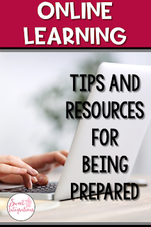 During the unpredictable times when students have to learn from home, it's important for schools and teachers to be prepared for remote learning. I've provided tips and resources for E-Learning Days.
