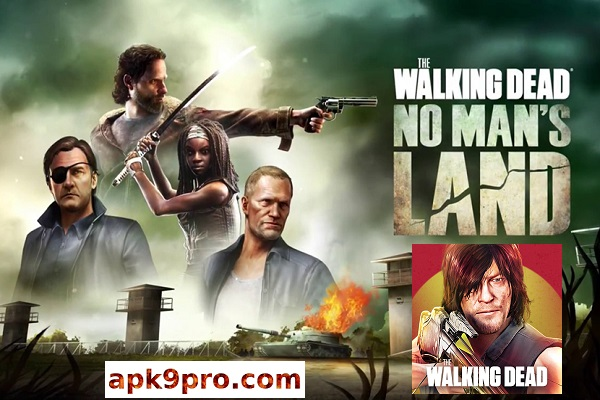 The Walking Dead No Man's Land v3.6.0.31 Apk + Mod + Data (File size 282 MB) for android