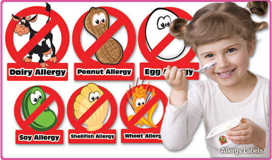 with a Child with Food Allergies - Signs Symptoms Childhood Allergies ...