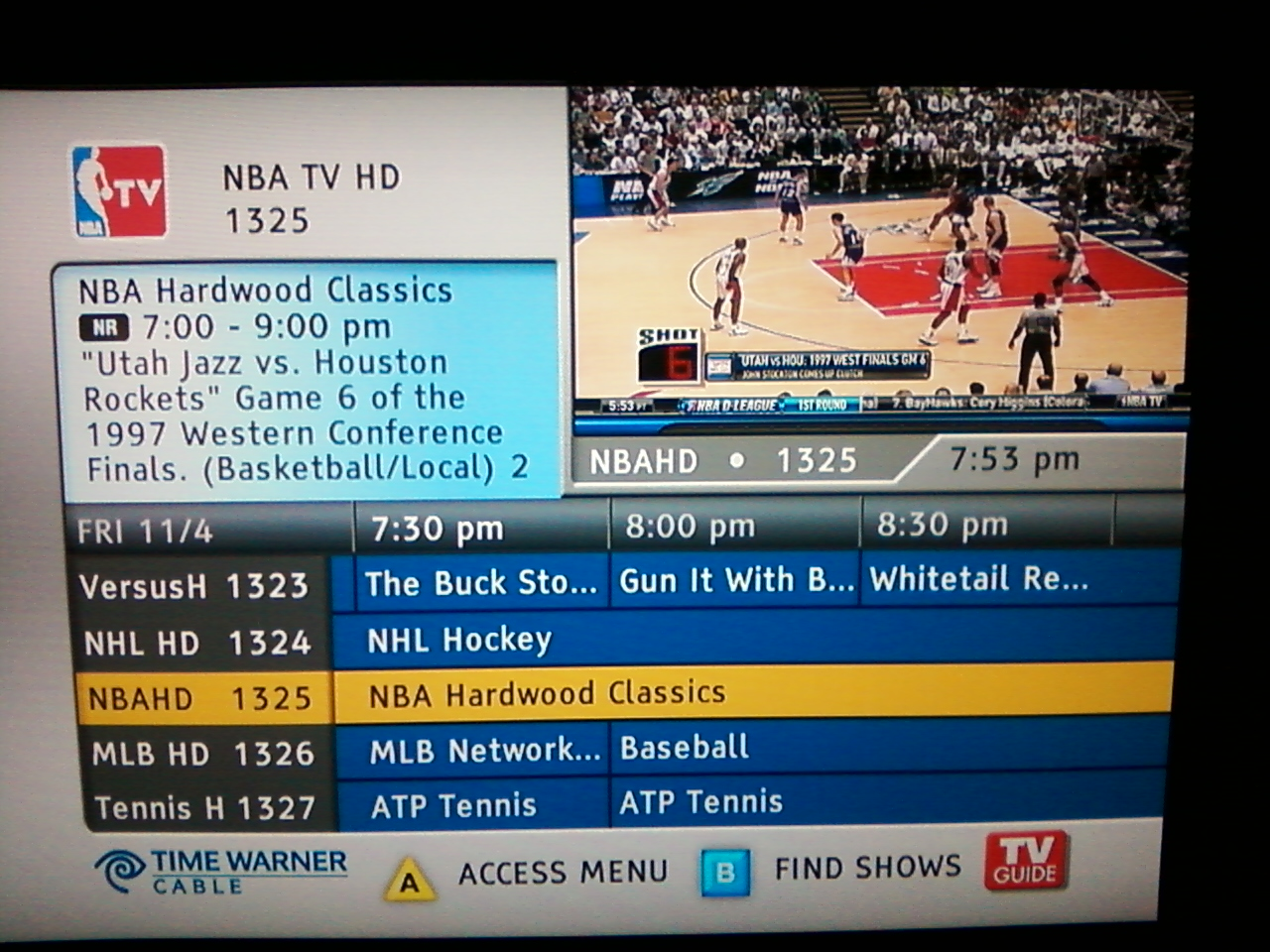 what channel is espnu on cable one