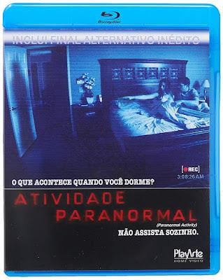 Blu Ray Atividade Paranormal