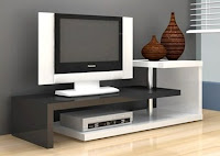 Anya-Living Scult Tv Stand - Putih Glossy