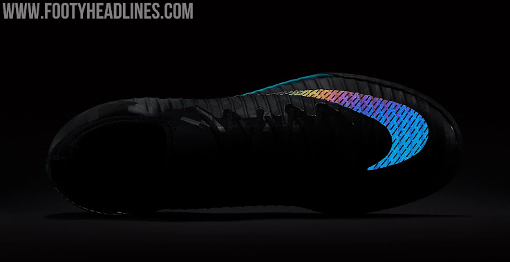 7365c0f0c  Black   Gamma Blue  Nike MercurialX Finale II Limited-Edition Aurora Pack  North Boots Revealed