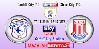 Prediksi Cardiff City vs Stoke City — 27 November 2019