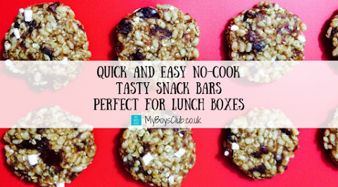 Quick and Easy No-Cook Tasty Snack Bars - Perfect for Adults and Childrens Lunch Boxes