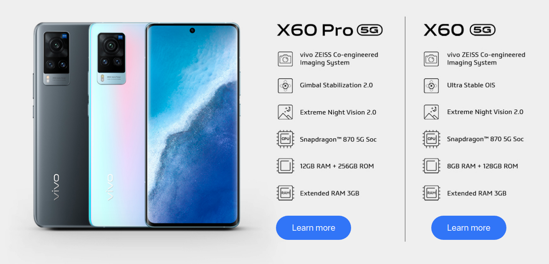 Vivo X60 VS Vivo X60 Pro Comparison, What's The Difference?