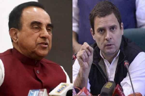 subramanian-swamy-said-rahul-gandhi-loosing-his-credibility-news