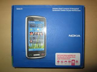 Nokia C6-01 Baru Sisa Stok Nokia Indonesia