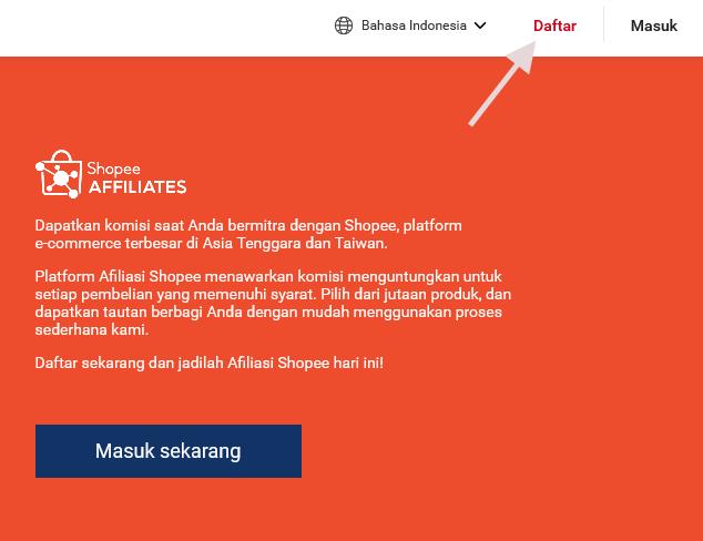Cara Daftar Program Affiliate Shopee - www.radenpedia.com