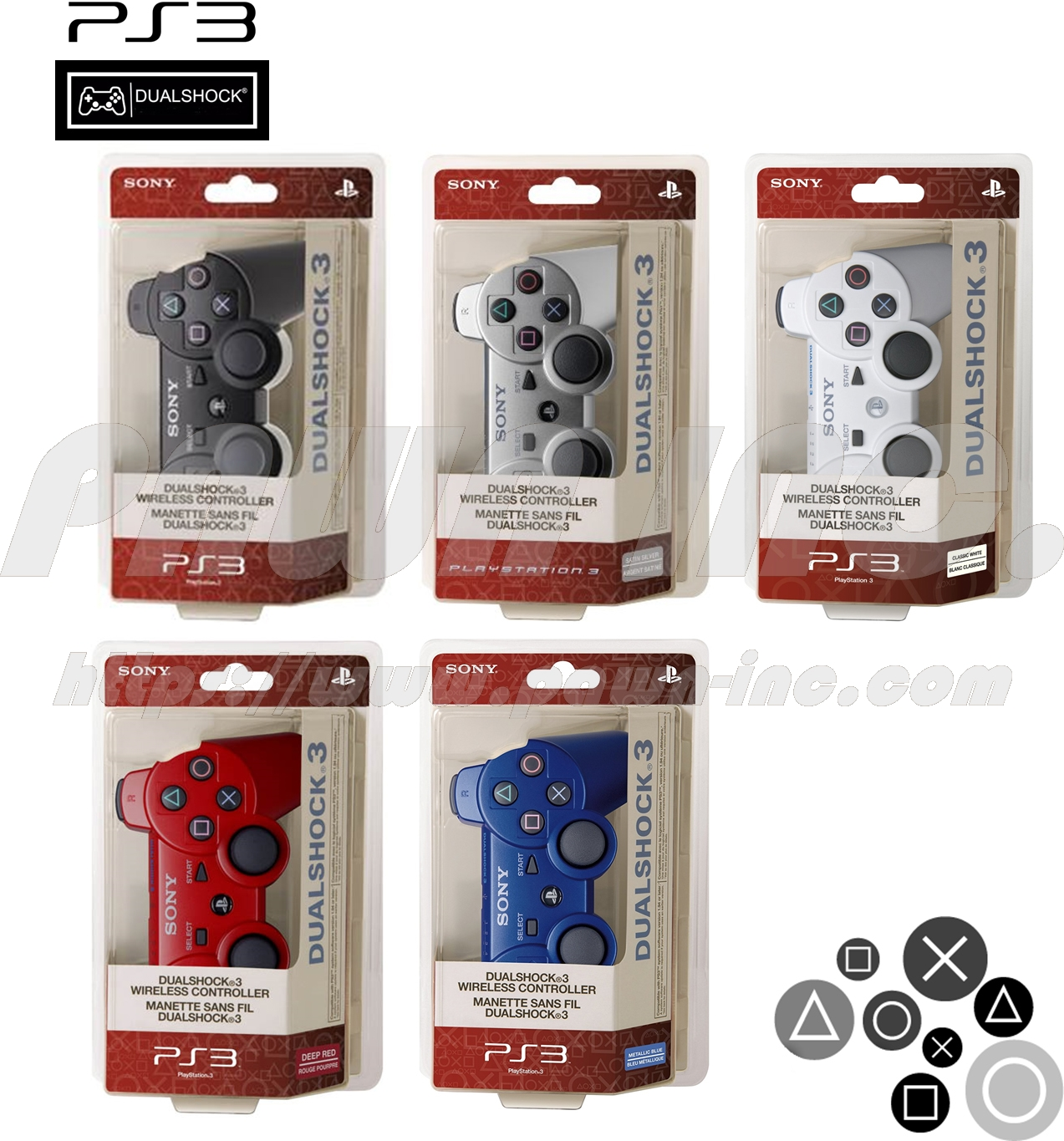 PS3 Dual Shock 3 Wireless Controller