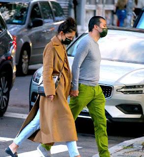 katie holmes walking to emilio s restaurant in soho ny 10 20 2020 6
