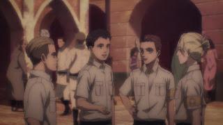 進撃の巨人第4期 ポルコ・ガリアード(CV: 増田俊樹)    顎の巨人   Attack on Titan The Final Season   Porco Galliard(Jaw Titan)   Hello Anime !