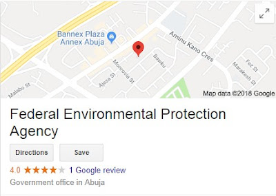 Apply Here For Federal Environmental Protection Agency Recruitment 2018/2019 | Online Jobs