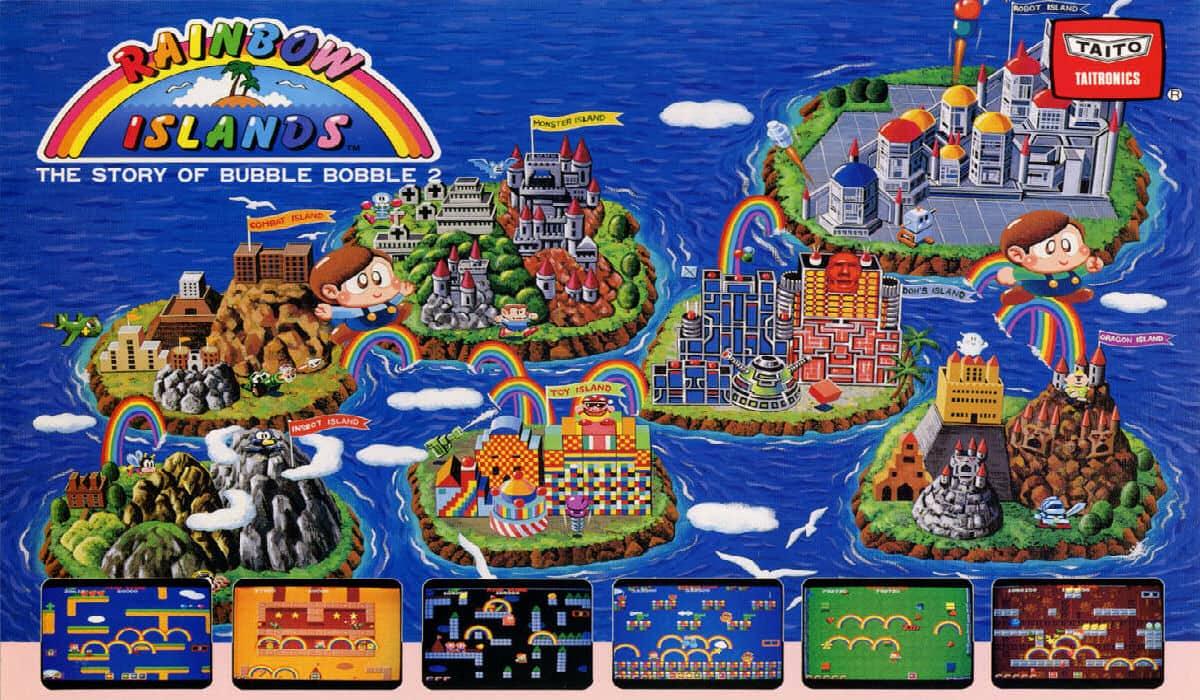 Rainbow Islands: The Story Of Bubble Bobble 2