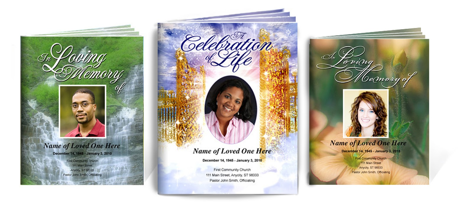The Funeral Program Site: Funeral Booklets