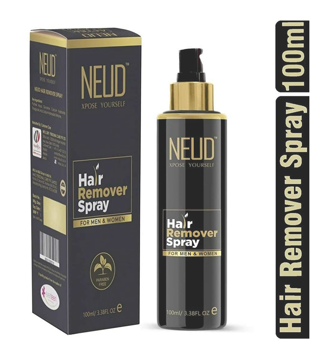 Neud Hair Remover Spray Review Theblissfulbeauty